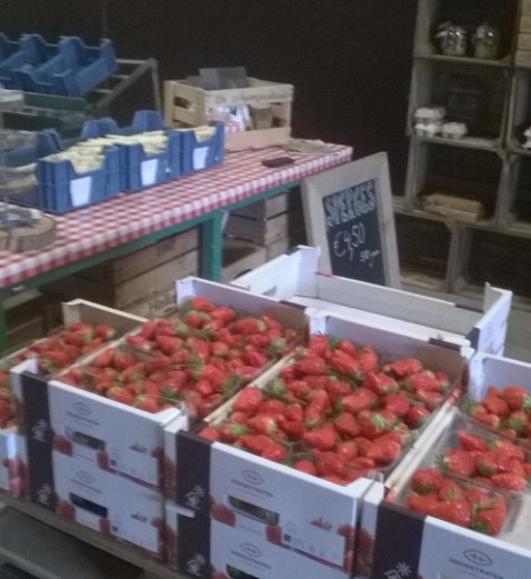 and strawberries!